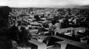 Tehran, the city where Baha'u'llah was born in 1817. This photograph was taken around 1930. (photo copyright Baha'i International Community)