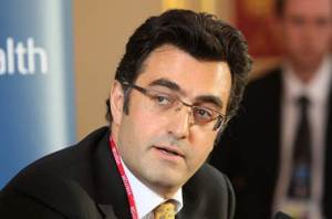 "Maziar Bahari, a prominent Canadian-Iranian filmmaker and journalist who produced the documentary film ""To Light a Candle"", which explores the systematic persecution of the Baha'i community in Iran. (Photo courtesy of Foreign and Commonwealth Office)."