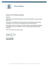 New Zealand Message