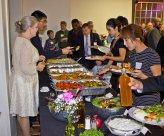 Persian dinner food line